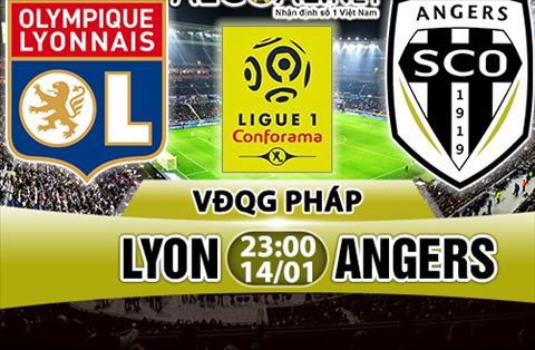 Nhan dinh Lyon vs Angers 23h00 ngay 141 (Ligue 1 201718) hinh anh