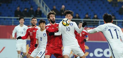 Ket qua bong da U23 Syria vs U23 Han Quoc hom nay hinh anh