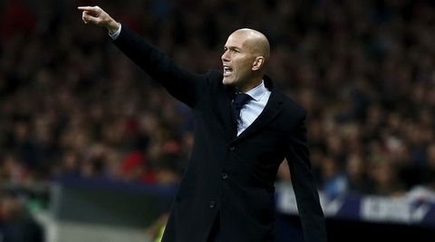 HLV Zinedine Zidane co the dan dat DT Phap hinh anh