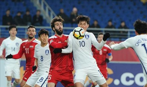 U23 Viet Nam huong loi tu tran dau giua U23 Syria vs U23 Han Quoc hinh anh
