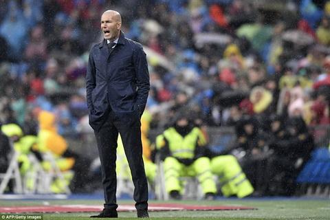 Zidane va thuyet am muu ve su sa sut cua Real Madrid hinh anh