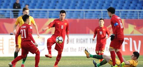 Doi hinh U23 Viet Nam dau U23 Syria An toan la tren het hinh anh