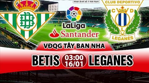 Nhan dinh Betis vs Leganes 03h00 ngay 161 (La Liga 201718) hinh anh