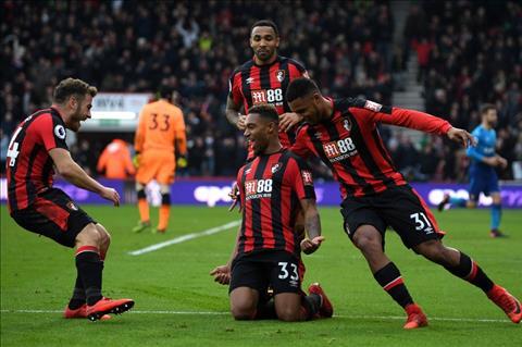 Du am Bournemouth 2-1 Arsenal Khung hoang that roi Phao thu oi! hinh anh
