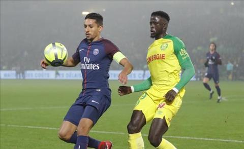 Tong hop Nantes 0-1 PSG (Vong 20 Ligue 1 201718) hinh anh