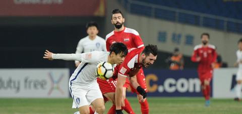 Zeid Ghrir (U23 Syria) cung duoc AFC danh gia cao.