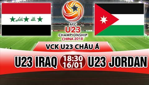 Nhan dinh U23 Iraq vs U23 Jordan 18h30 ngay 161 (VCK U23 chau A 2018) hinh anh