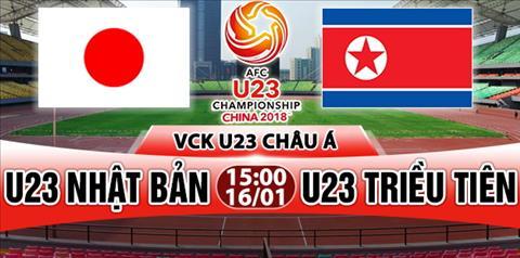 Nhan dinh U23 Nhat Ban vs U23 Trieu Tien 15h00 ngay 161 (VCK U23 chau A 2018) hinh anh