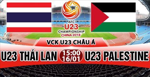 Nhan dinh U23 Thai Lan vs U23 Palestine 15h00 ngay 161 (VCK U23 chau A 2018) hinh anh