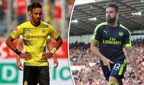 Tien dao Olivier Giroud sap cap ben Dortmund hinh anh