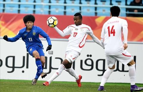 U23 Thai Lan thua cuc soc o giai chau A, gian tiep khien Trieu Tien bi loai hinh anh