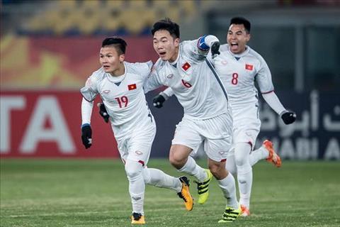 Trang chu LDBD chau A vinh danh DT U23 Viet Nam hinh anh
