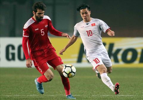 Olympic Việt Nam vs Olympic Syria Chờ cái duyên Tây Á hình ảnh