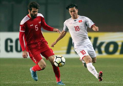 Tong hop: U23 Viet Nam 0-0 U23 Syria (VCK U23 chau A 2018)