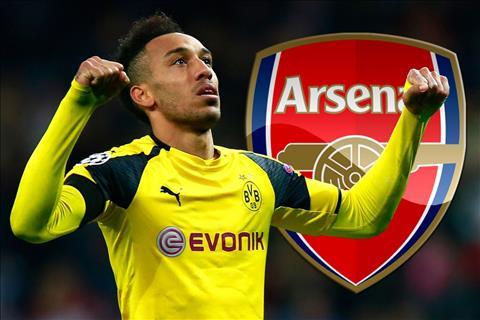 Tien dao Aubameyang sap ky hop dong voi Arsenal hinh anh 2