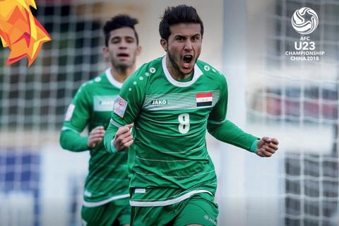 LĐBĐ Iraq phủ nhận việc rút ĐT Olympic Iraq khỏi ASIAD 2018  hình ảnh