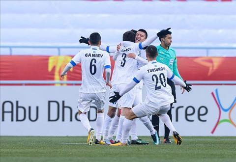 Tong hop U23 Nhat Ban 0-4 U23 Uzbekistan (VCK U23 chau A 2018) hinh anh