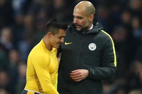 Pep Guardiola noi moc hoc tro cu Alexis Sanchez hinh anh