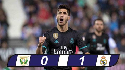 Tong hop Leganes 0-1 Real Madrid (Cup Nha vua TBN 201718) hinh anh
