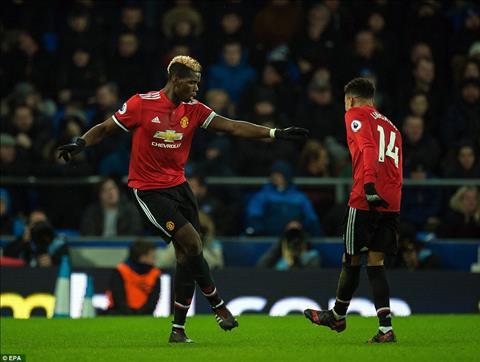 Everton 0-2 MU Tien ve Paul Pogba day lui khung hoang hinh anh 2