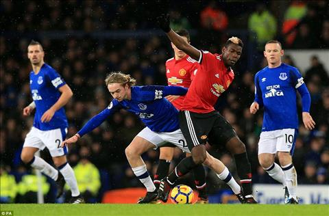 Everton 0-2 MU Tien ve Paul Pogba day lui khung hoang hinh anh