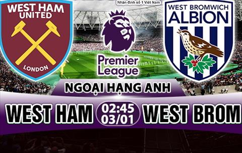Nhan dinh West Ham vs West Brom 02h45 ngay 31 (Premier League 201718) hinh anh