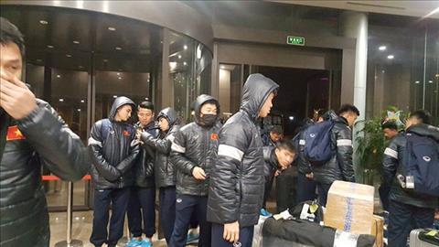U23 Viet Nam gap kho vi thoi tiet tai Trung Quoc hinh anh