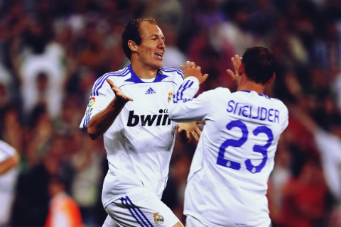 Robben - Sneijder: Mãnh hổ Hà Lan và những kẻ bỏ đi tại thành Madrid