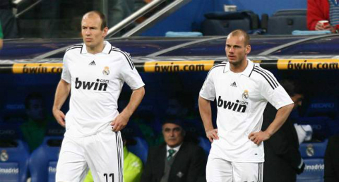 Robben - Sneijder: Manh ho Ha Lan va nhung ke bo di tai thanh Madrid 1