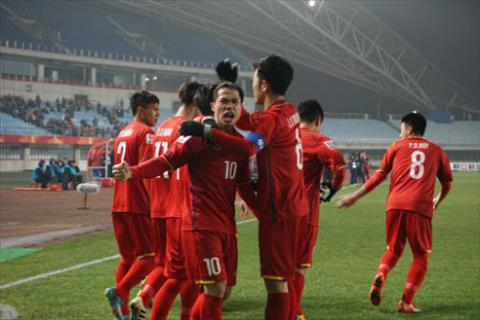 Cham diem U23 Viet Nam 3-3 U23 Iraq (5-3 penalty) Tuyet voi doan quan ao do hinh anh