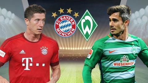 Nhan dinh Bayern Munich vs Bremen 21h30 ngay 211 (Bundesliga 201718) hinh anh