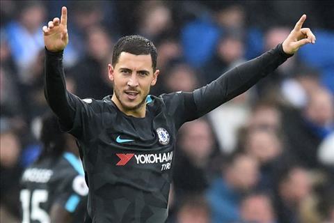 Eden Hazard di vao lich su Chelsea