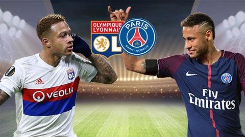 Nhan dinh Lyon vs PSG 03h00 ngay 221 (Ligue 1 201718) hinh anh