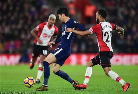Du am Southampton 1-1 Tottenham Cu buoc hut tai hai hinh anh