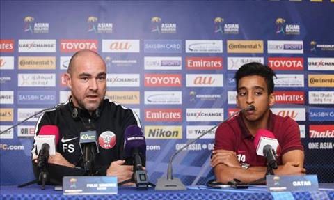 HLV Qatar thua nhan U23 Viet Nam la doi thu kho nhan hinh anh