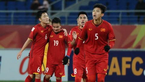 Hong Son, Huynh Duc noi gi ve tran U23 Viet Nam vs U23 Qatar hinh anh