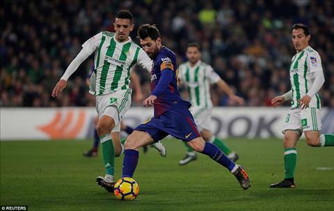 Tong hop Betis 0-5 Barca (Vong 20 La Liga 201718) hinh anh