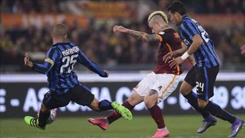 Tong hop Inter Milan 1-1 Roma (Vong 21 Serie A 201718) hinh anh