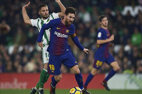 Betis 0-5 Barca Hay can Messilona neu co the! hinh anh