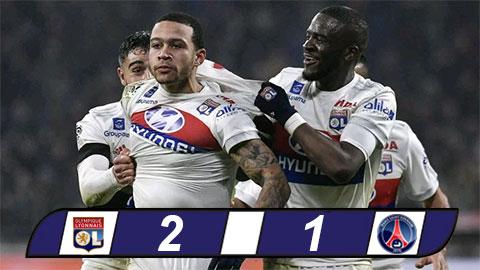 Lyon 2-1 PSG: Bom xit M.U ra tay ha sat ke thong tri