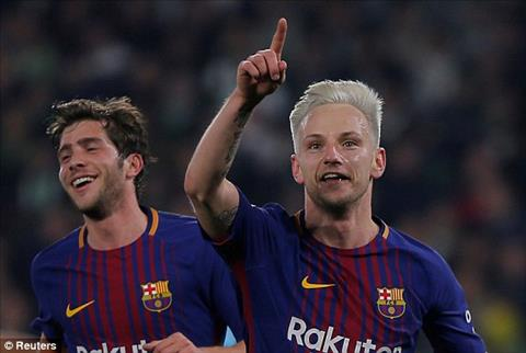 Tong hop: Betis 0-5 Barca (Vong 20 La Liga 2017/18)