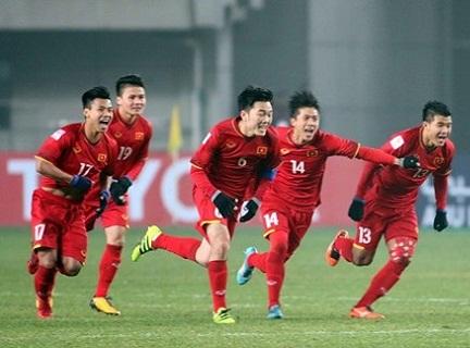 U23 Viet Nam an mung khi lot vao ban ket