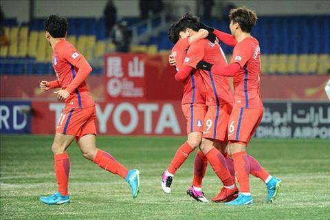 TRUC TIEP U23 Han Quoc vs U23 Uzbekistan 18h30 ngay 231 (VCK U23 chau A 2018) hinh anh