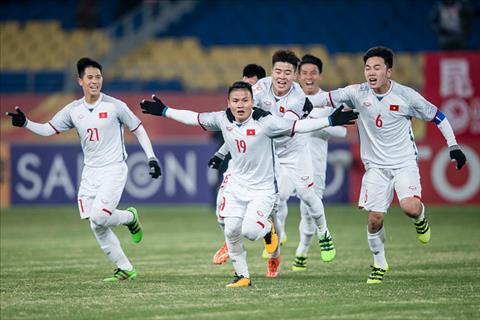Tong hop: U23 Viet Nam 2-2 (pen 4-3) U23 Qatar (VCK U23 chau A 2018)