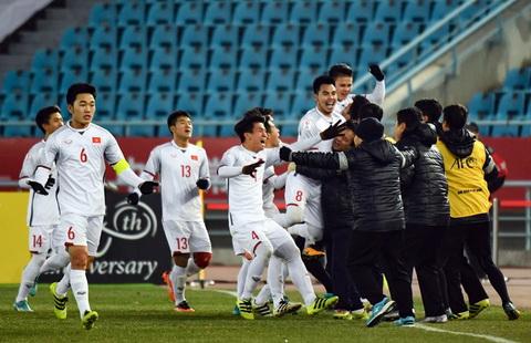 U23 Viet Nam thang ban ket U23 chau A 2018 Dung khoc, Qatar! hinh anh