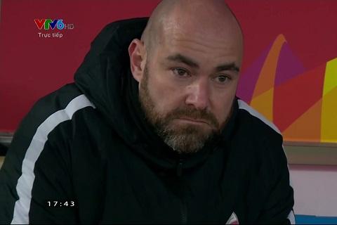HLV Felix Sanchez cua U23 Qatar