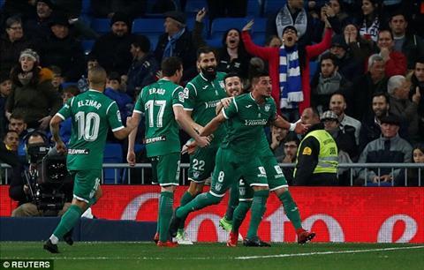 Tong hop Real Madrid 1-2 Leganes (Tu ket cup Nha vua TBN 201718) hinh anh