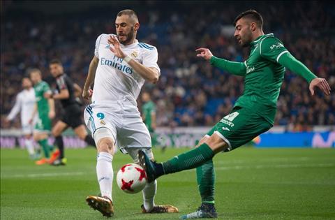Real Madrid vs Leganes Benzema can bong