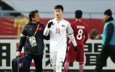 Cuu HLV The Cong lo ngai chan thuong cua U23 Viet Nam hinh anh