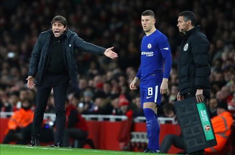 Conte khich le tan binh Chelsea sau man ra mat nhat nhoa hinh anh